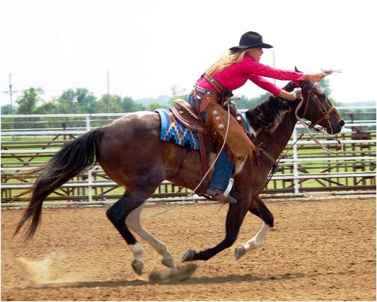 Cowboy Mounted Shooters In Missouri